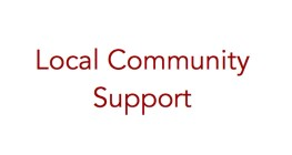 Local Community Support