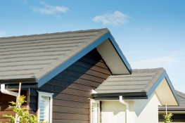 Choose between metal tile, concrete tile and long run roofing options