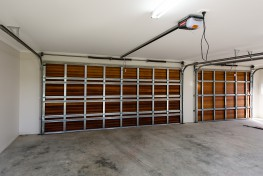 Internal garage door