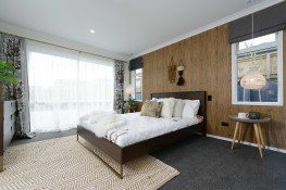 Carpeted bedrooms create warm rooms
